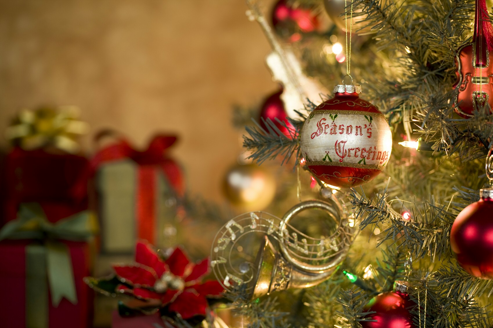 Seasons greetings ornament on tree kodiak electric association seasons greetings ornament on tree m4hsunfo