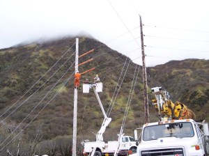 KEA Lineman have all the right tools to get the job done.