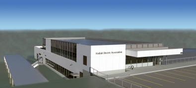 Architectural Rendition of KEA New Headquarters Building
