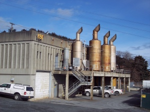 The Sound of Silence from Exhaust Stacks for Kodiak Power House Diesel Generators