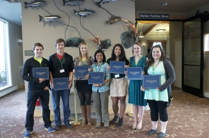 2015 Academic Scholarship Recipients