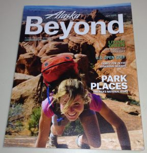 Alaska Beyond April 2015, Alaska Airlines Magazine