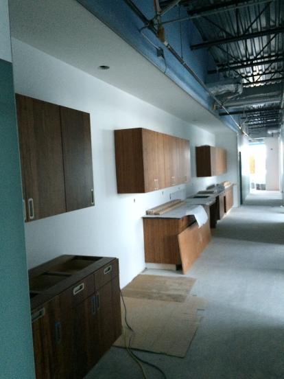 Hallway behind Member Services