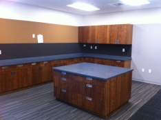 Storage Areas with Work Space