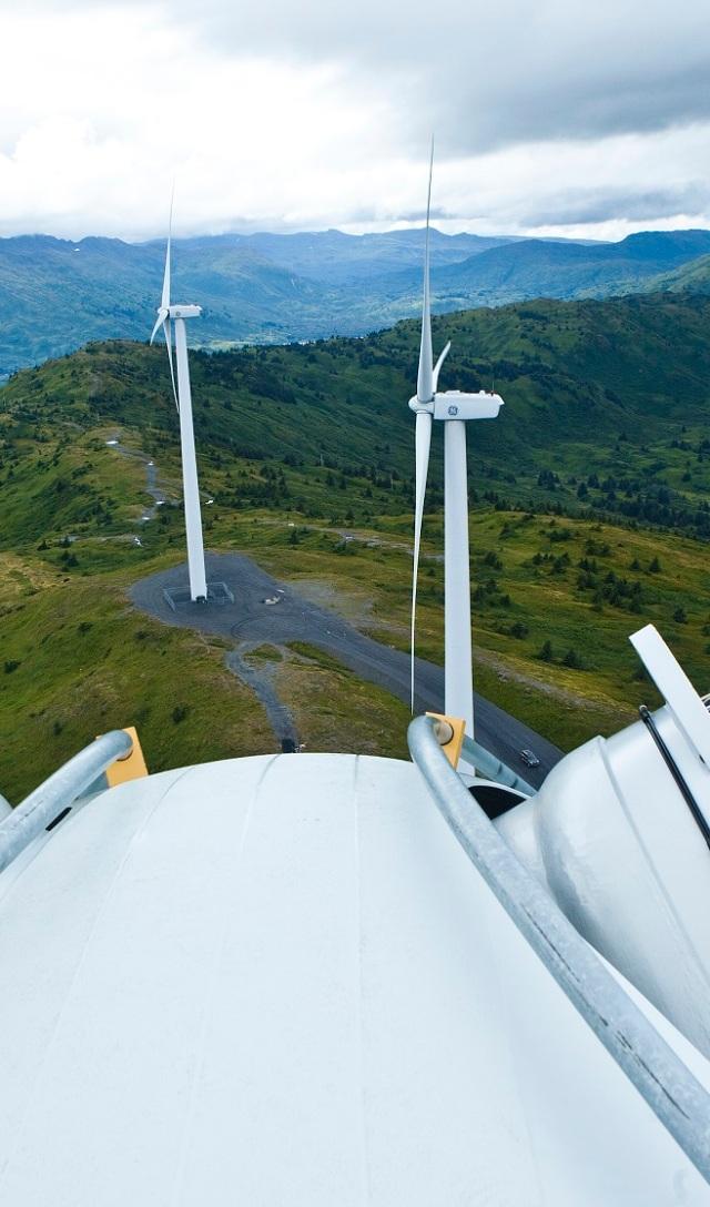 Atop a Wind Turbine